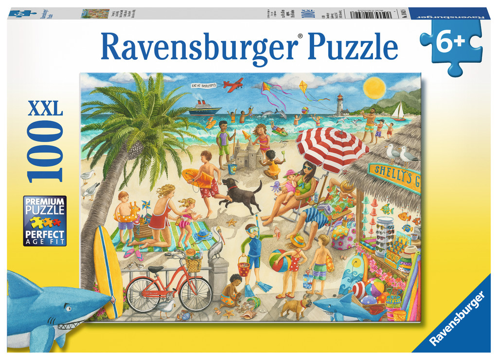 Sunshine at Shelly's Beach Jigsaw Puzzle
