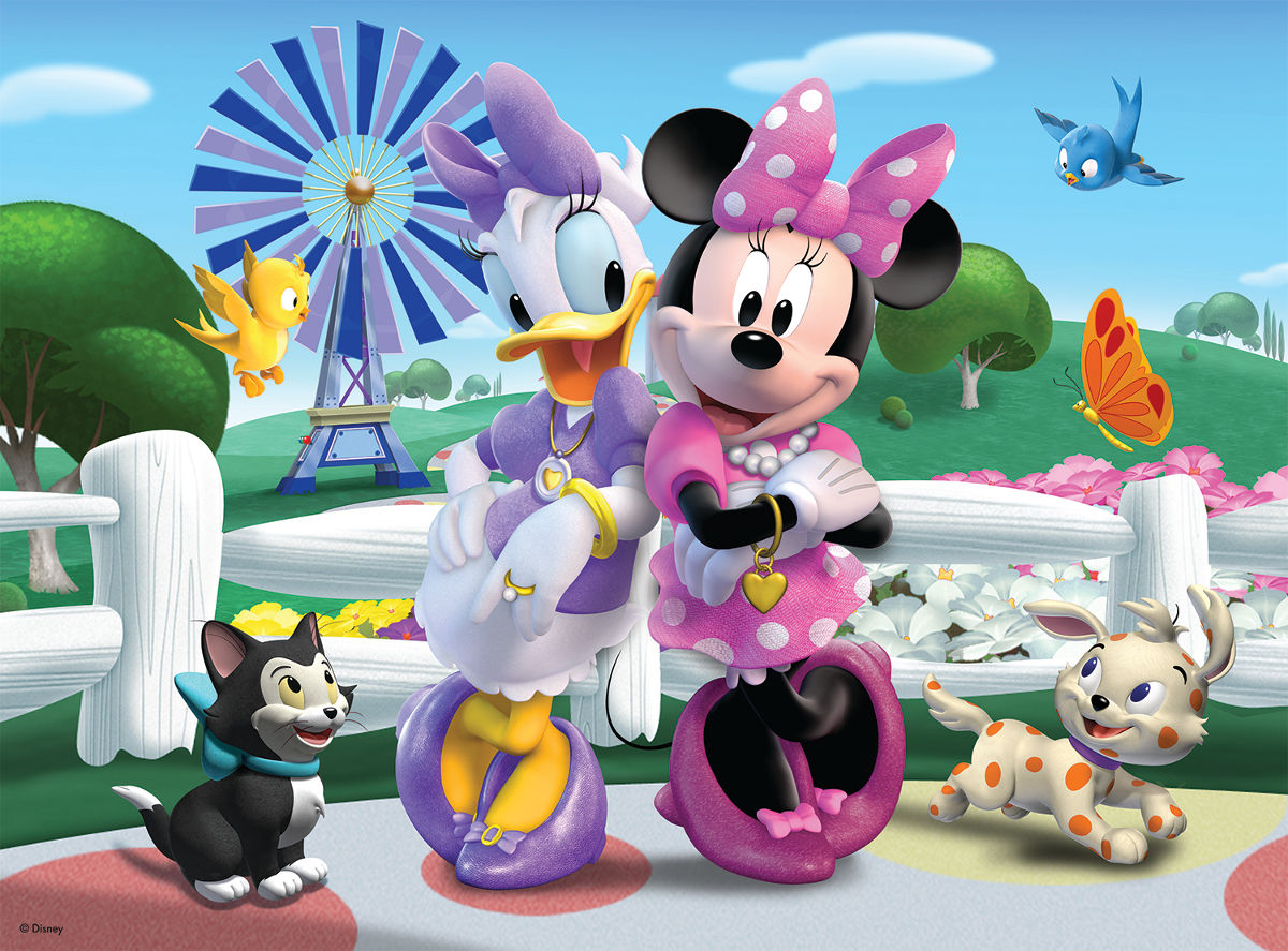 Minnie and Daisy - Scratch and Dent Disney Jigsaw Puzzle