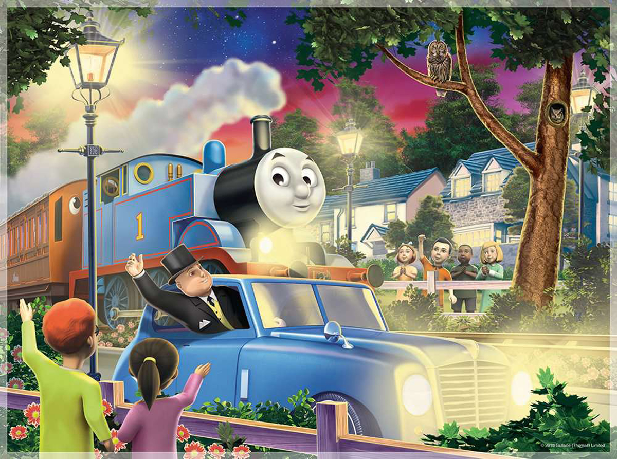 Thomas & Friends: Travelling Thomas Thomas and Friends Glow in the Dark Puzzle