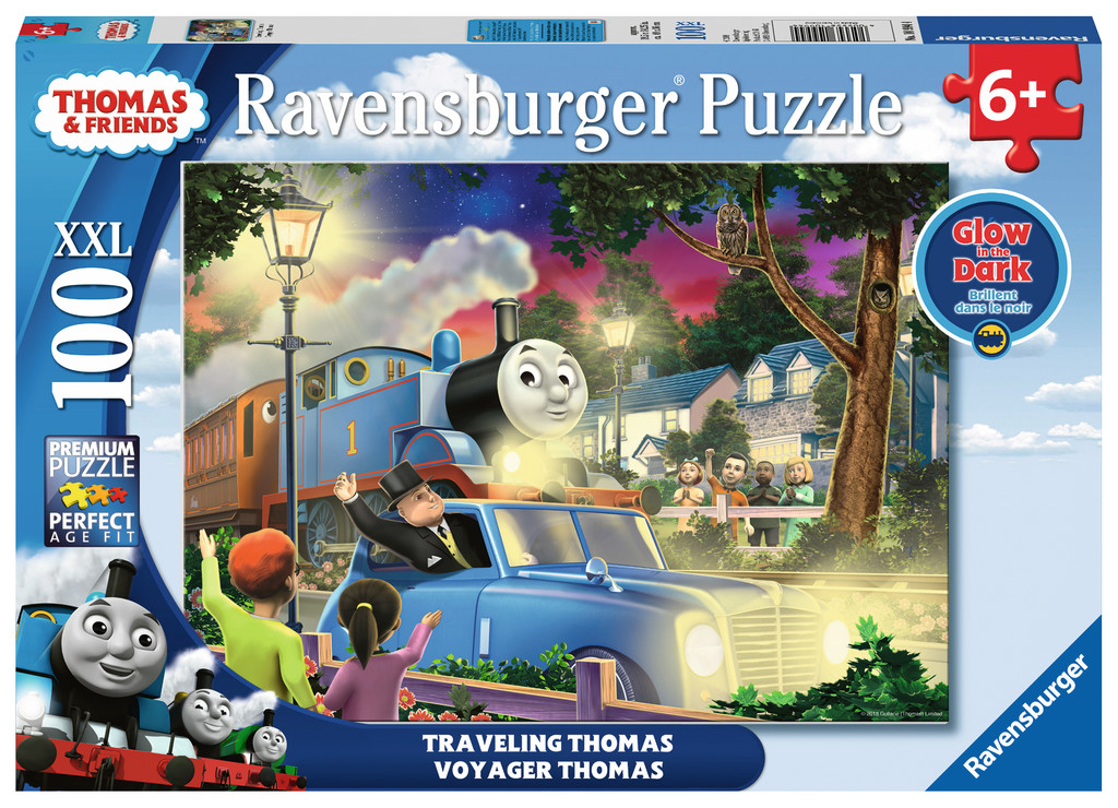 Travelling Thomas Trains Glow in the Dark Puzzle