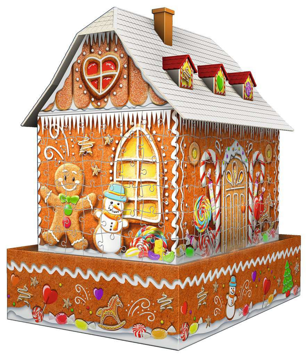 Gingerbread House Night Food and Drink Jigsaw Puzzle