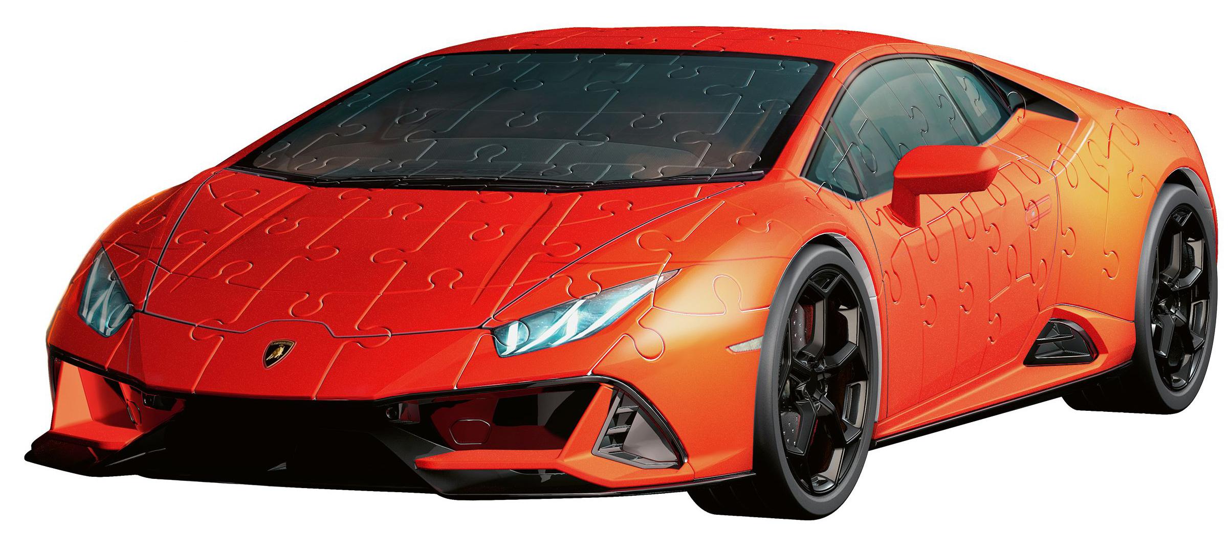 Lamborghini Huracan EVO Vehicles Shaped Puzzle