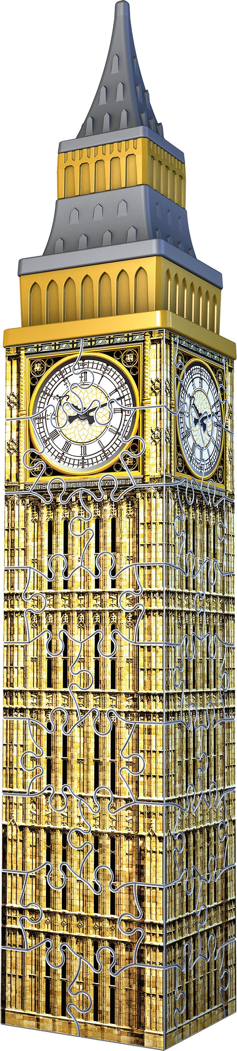 Mini Big Ben Landmarks / Monuments 3D Puzzle