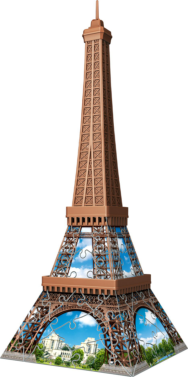 Mini Eiffel Tower Landmarks / Monuments 3D Puzzle