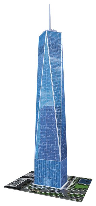 One World Trade Center NY Landmarks / Monuments Jigsaw Puzzle