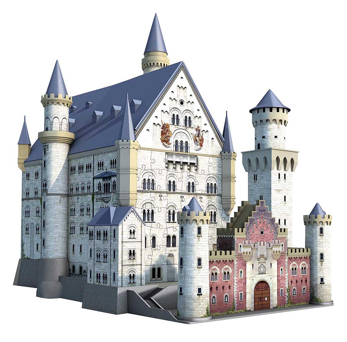 Schloss Neuschwanstein 3D Castles Jigsaw Puzzle