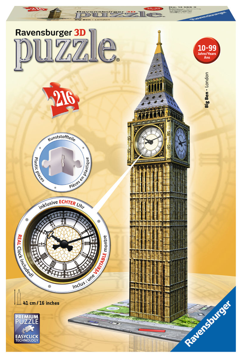 Big Ben Clock - Scratch and Dent Landmarks / Monuments Jigsaw Puzzle