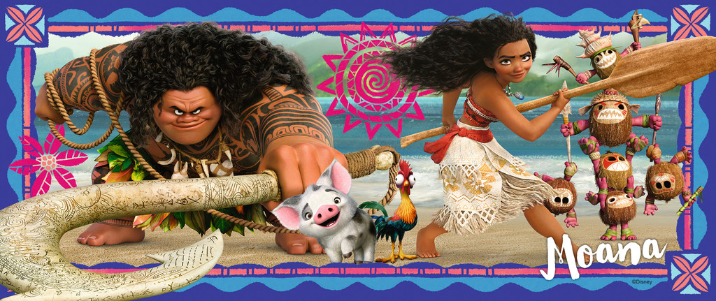 Moana's Adventure Movies / Books / TV Jigsaw Puzzle