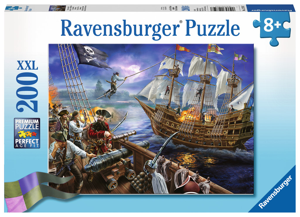 Blackbeard's Battle - Scratch and Dent Fantasy Jigsaw Puzzle