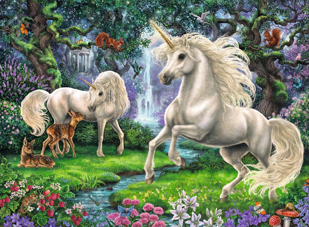 Mystical Unicorns Unicorns Jigsaw Puzzle