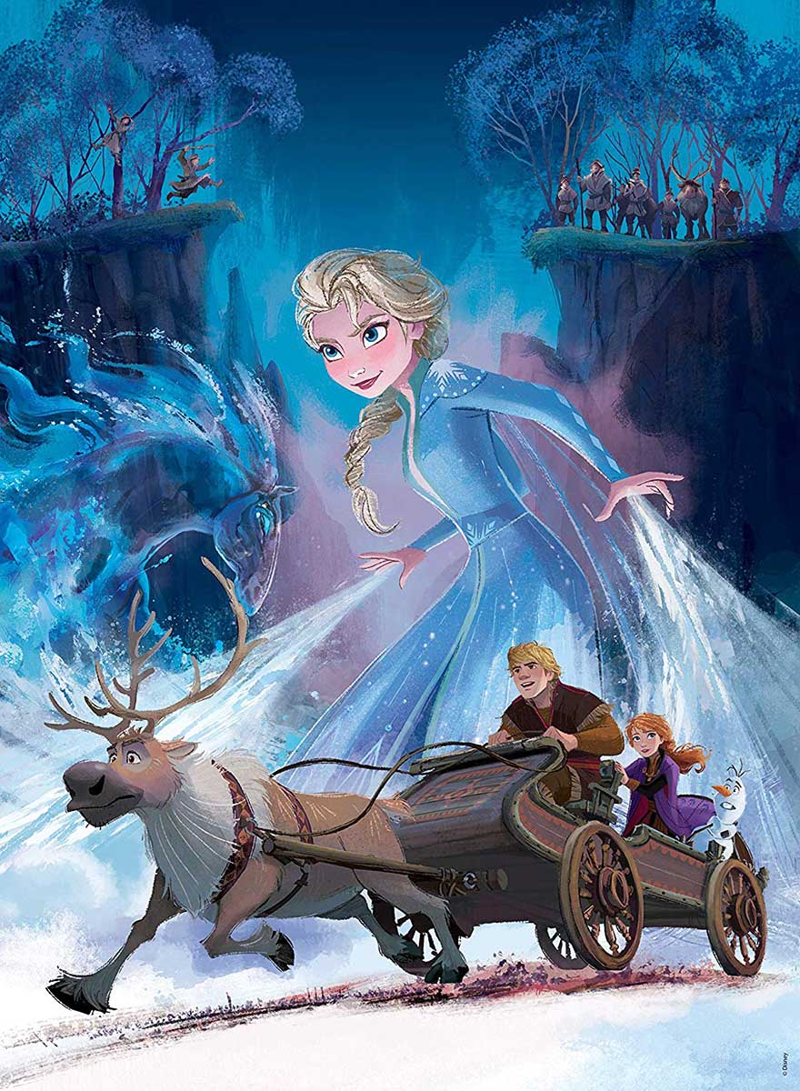 Frozen - Scratch and Dent Disney Jigsaw Puzzle