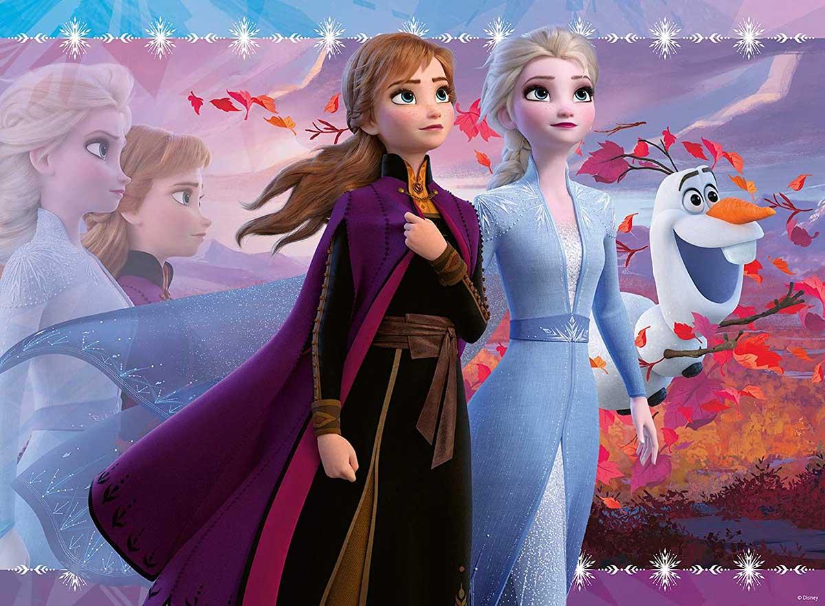 Frozen Disney Glitter / Shimmer / Foil Puzzles