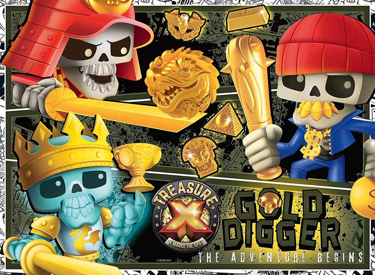 Treasure X Pirates Glow in the Dark Puzzle
