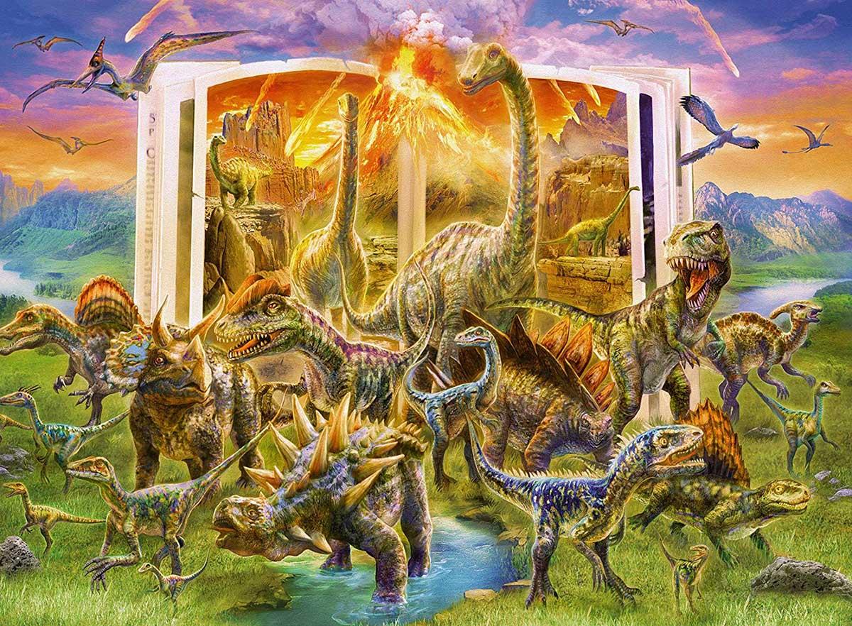 Dino Dictionary Dinosaurs Jigsaw Puzzle