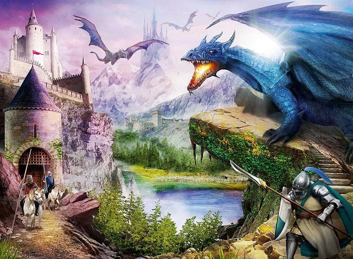 Mountains of Mayhem Castles Jigsaw Puzzle