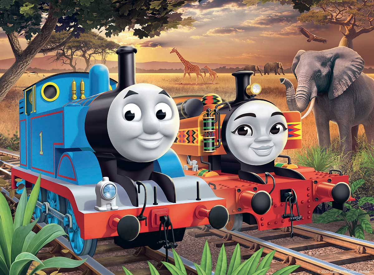 Thomas in Africa Trains Jigsaw Puzzle