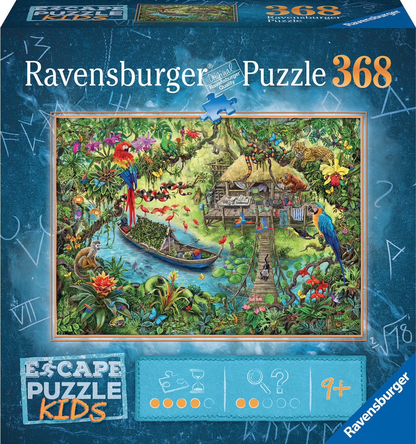 Jungle Journey Wildlife Jigsaw Puzzle