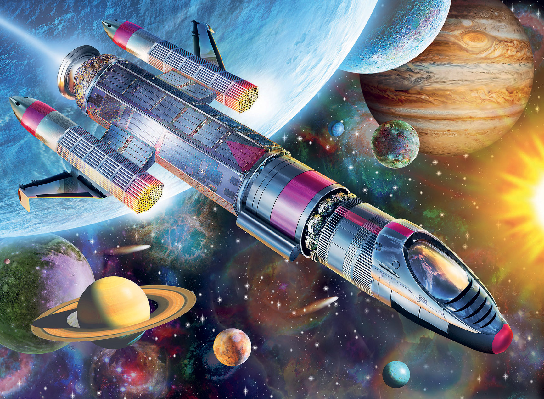 Mission in Space Space Jigsaw Puzzle