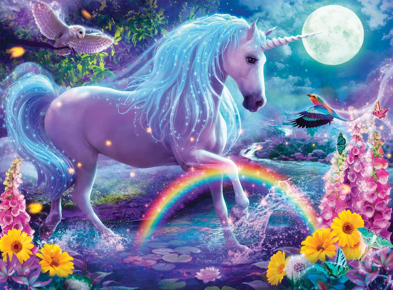 Glitter Unicorn Unicorns Glitter / Shimmer / Foil Puzzles