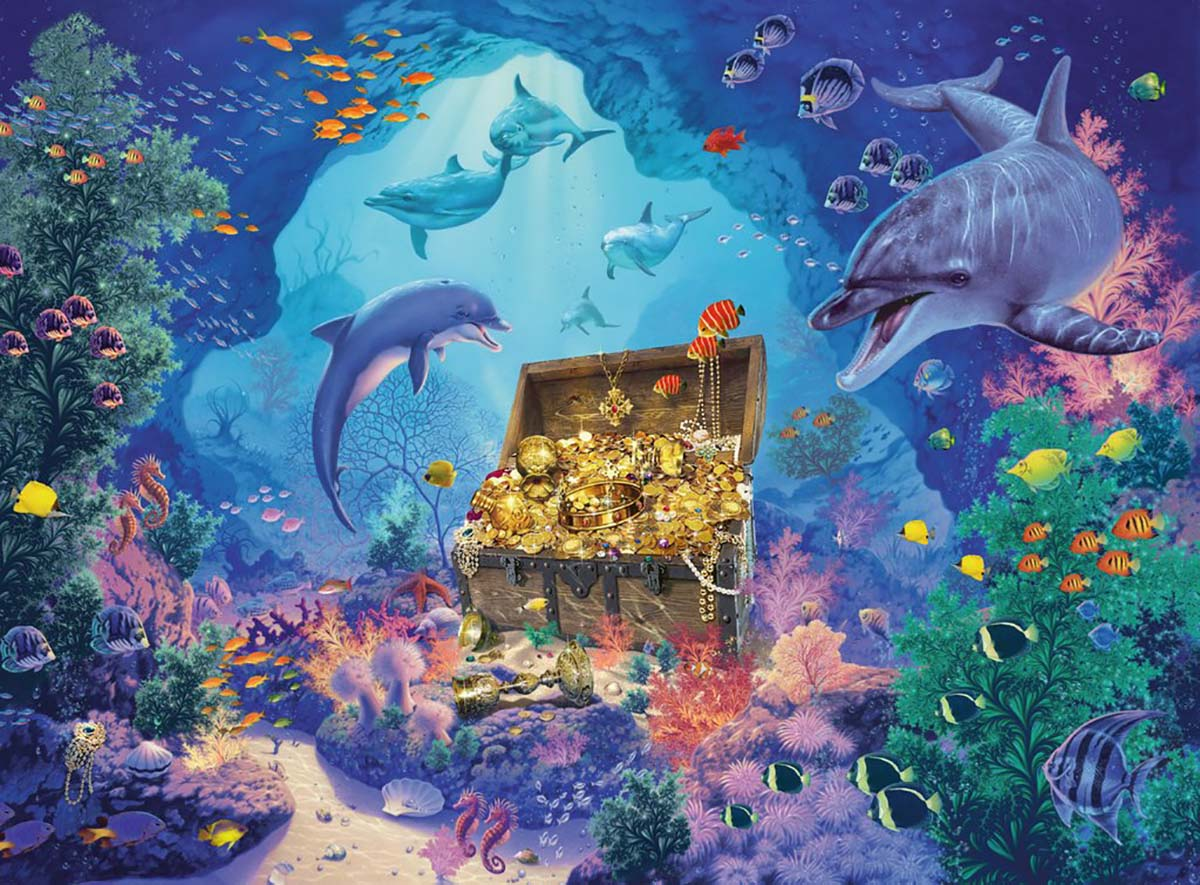 Deep Sea Treasure Under The Sea Jigsaw Puzzle