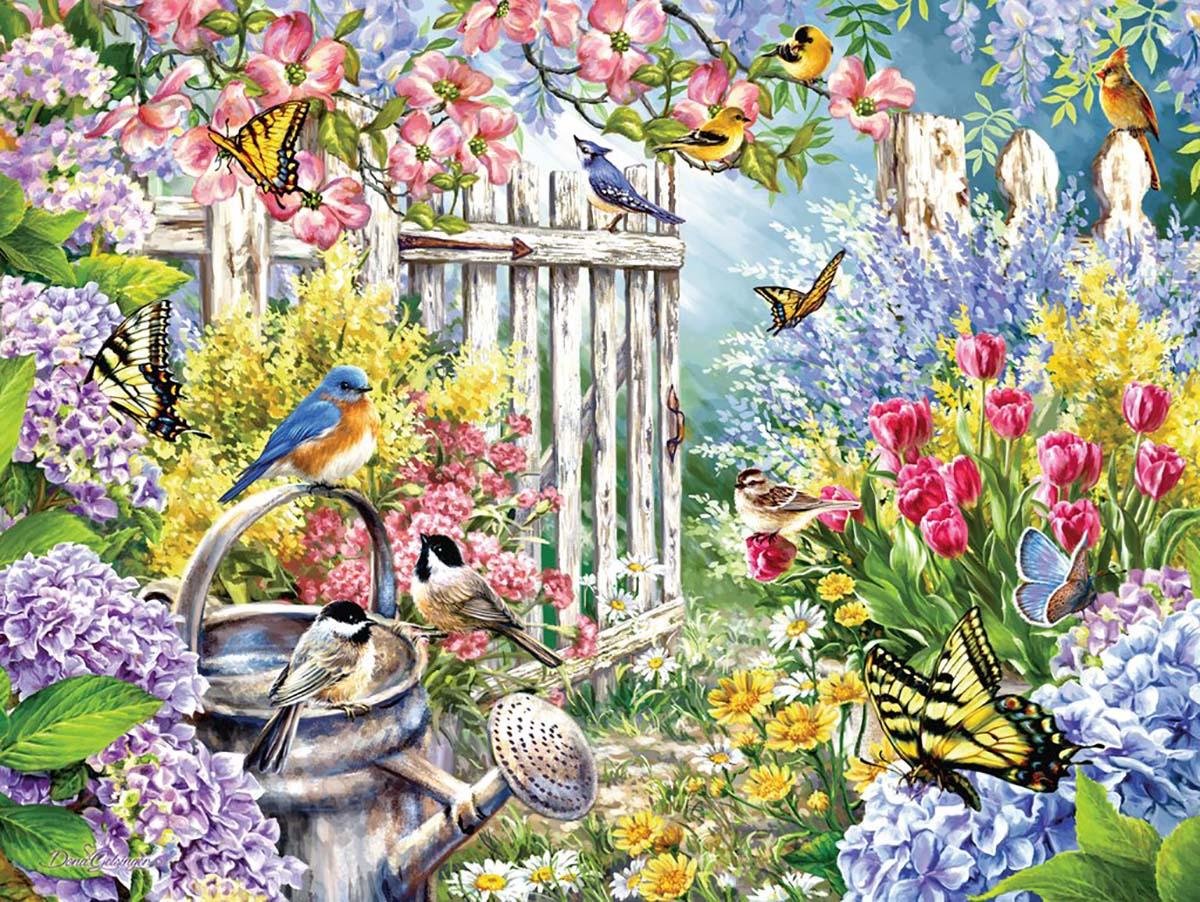 Spring Awakening Birds Jigsaw Puzzle
