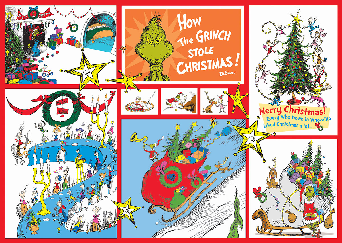 The Grinch Christmas Jigsaw Puzzle Puzzlewarehouse Com