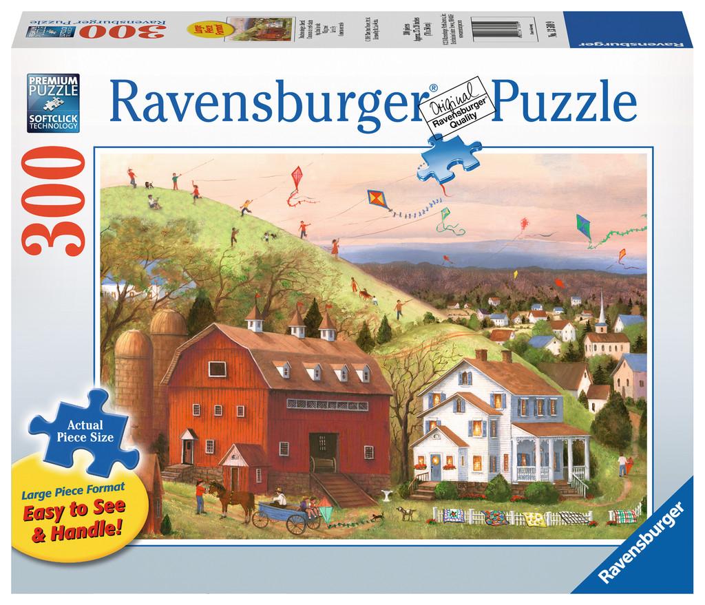 Let's Fly! Farm Jigsaw Puzzle