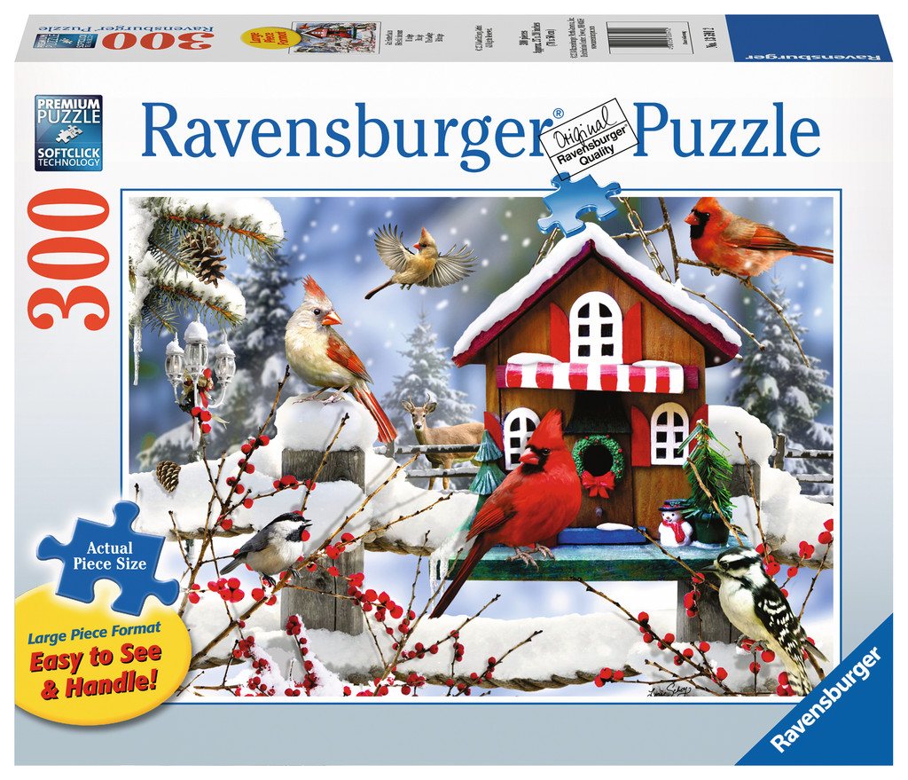 The Lodge Birds Jigsaw Puzzle
