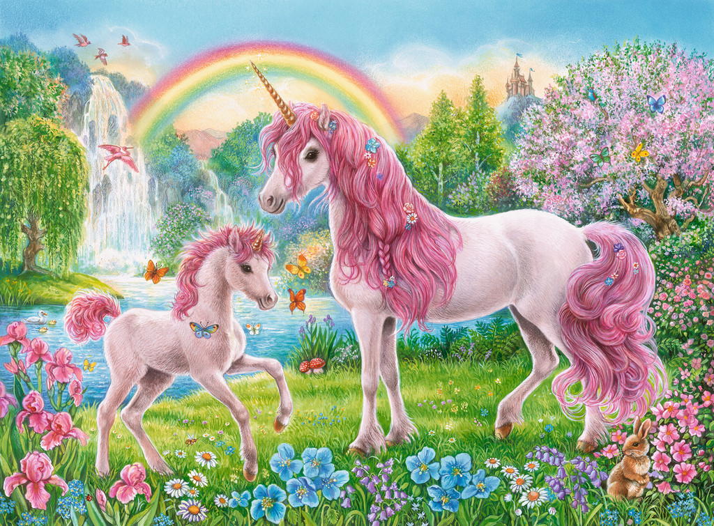 Magical Unicorns Unicorns Jigsaw Puzzle