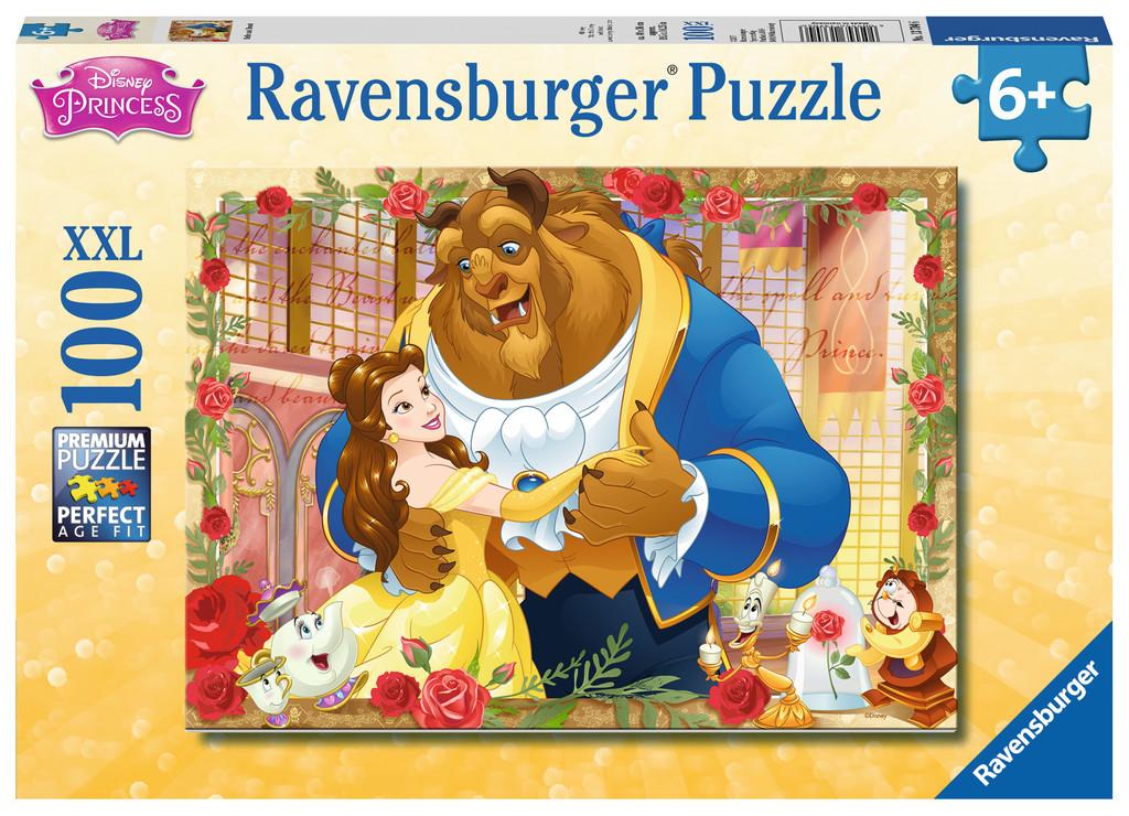 Belle & Beast Disney Glitter / Shimmer / Foil Puzzles