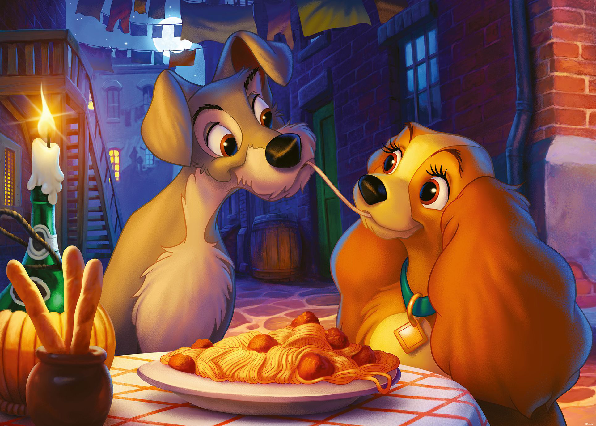 Lady and the Tramp Disney Jigsaw Puzzle