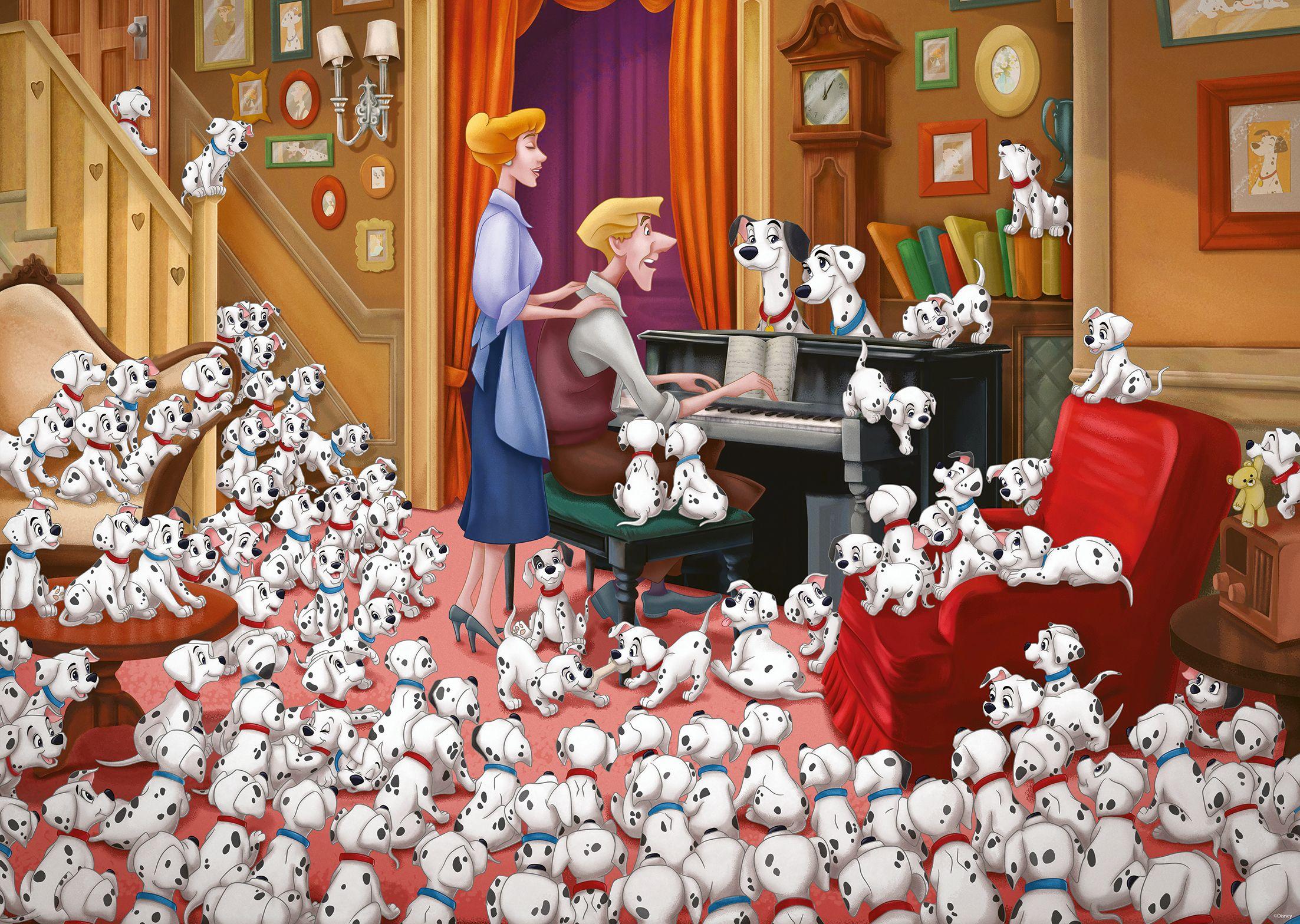 101 Dalmatians Disney Jigsaw Puzzle