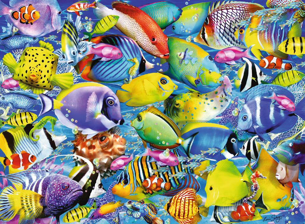 Tropical Traffic Fish Jigsaw Puzzle