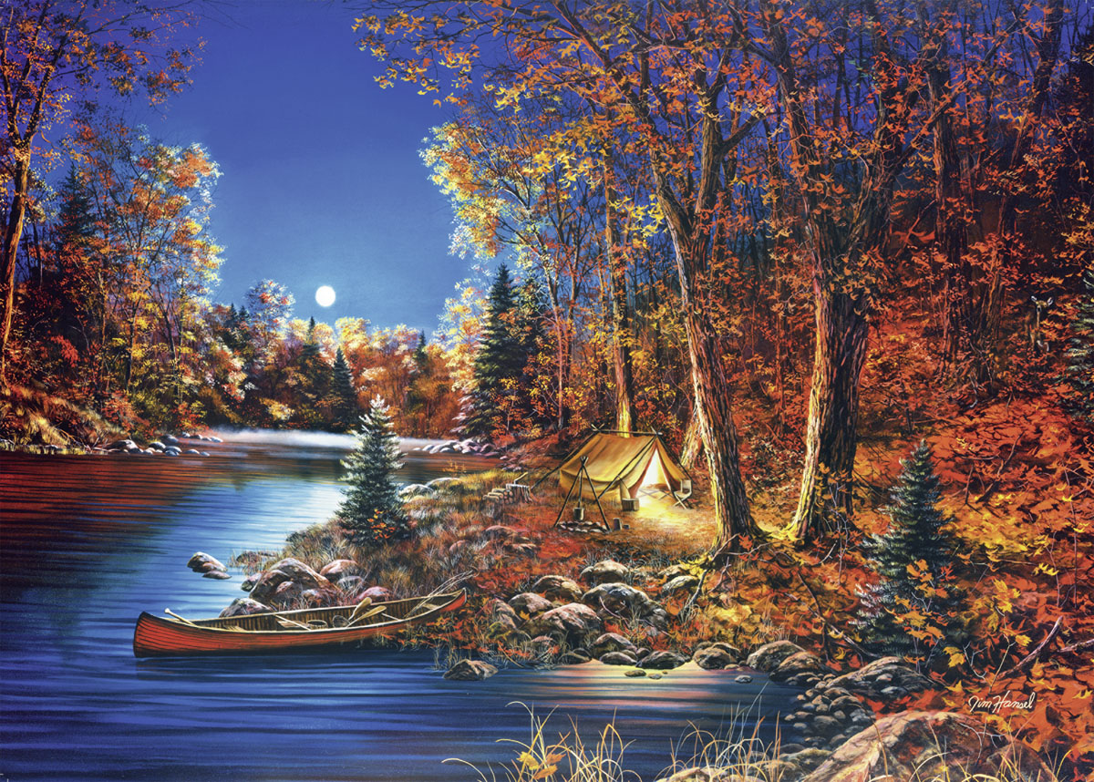 Still of the Night Fall Jigsaw Puzzle