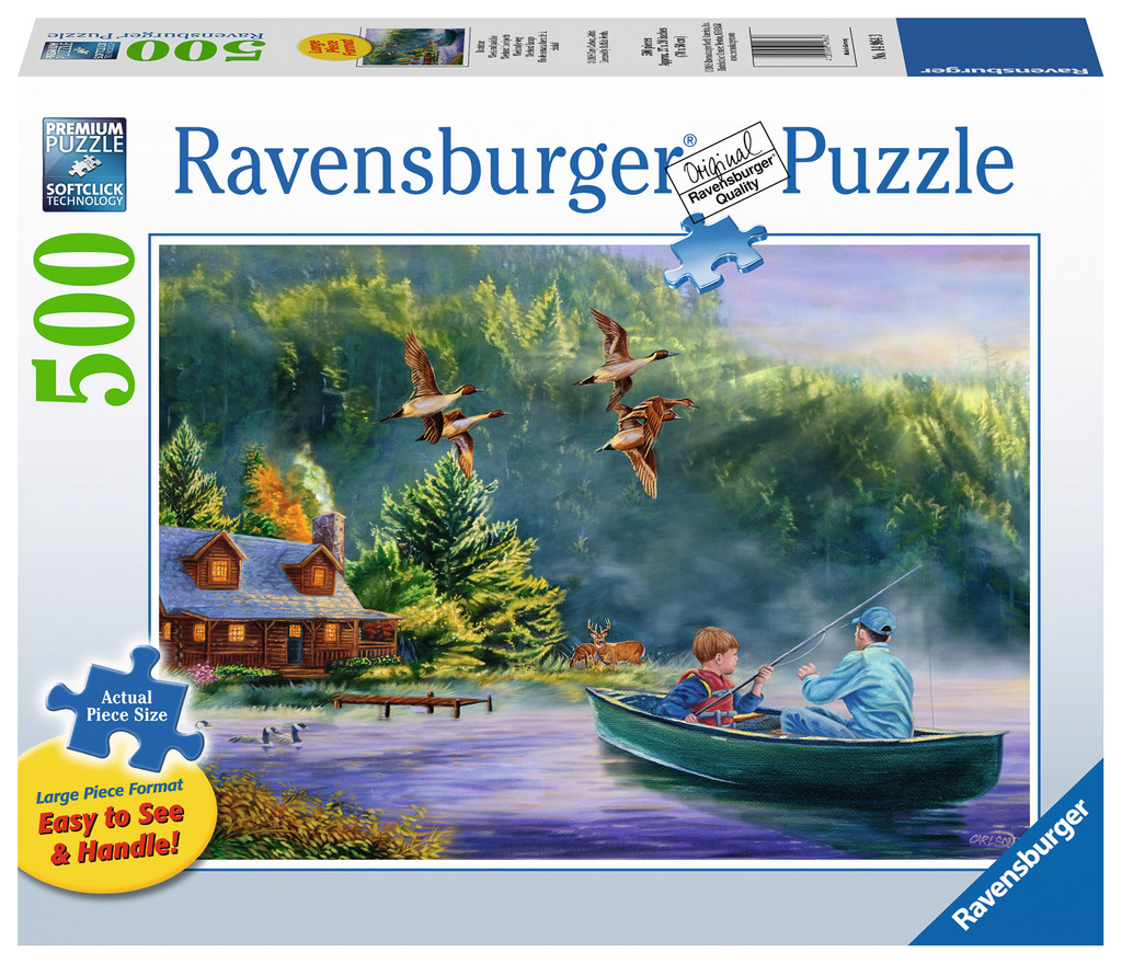 Weekend Escape Fishing Jigsaw Puzzle