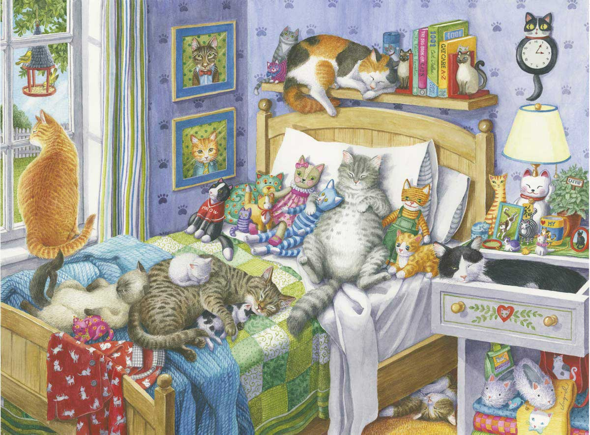 Cat Nap - Scratch and Dent Cats Jigsaw Puzzle