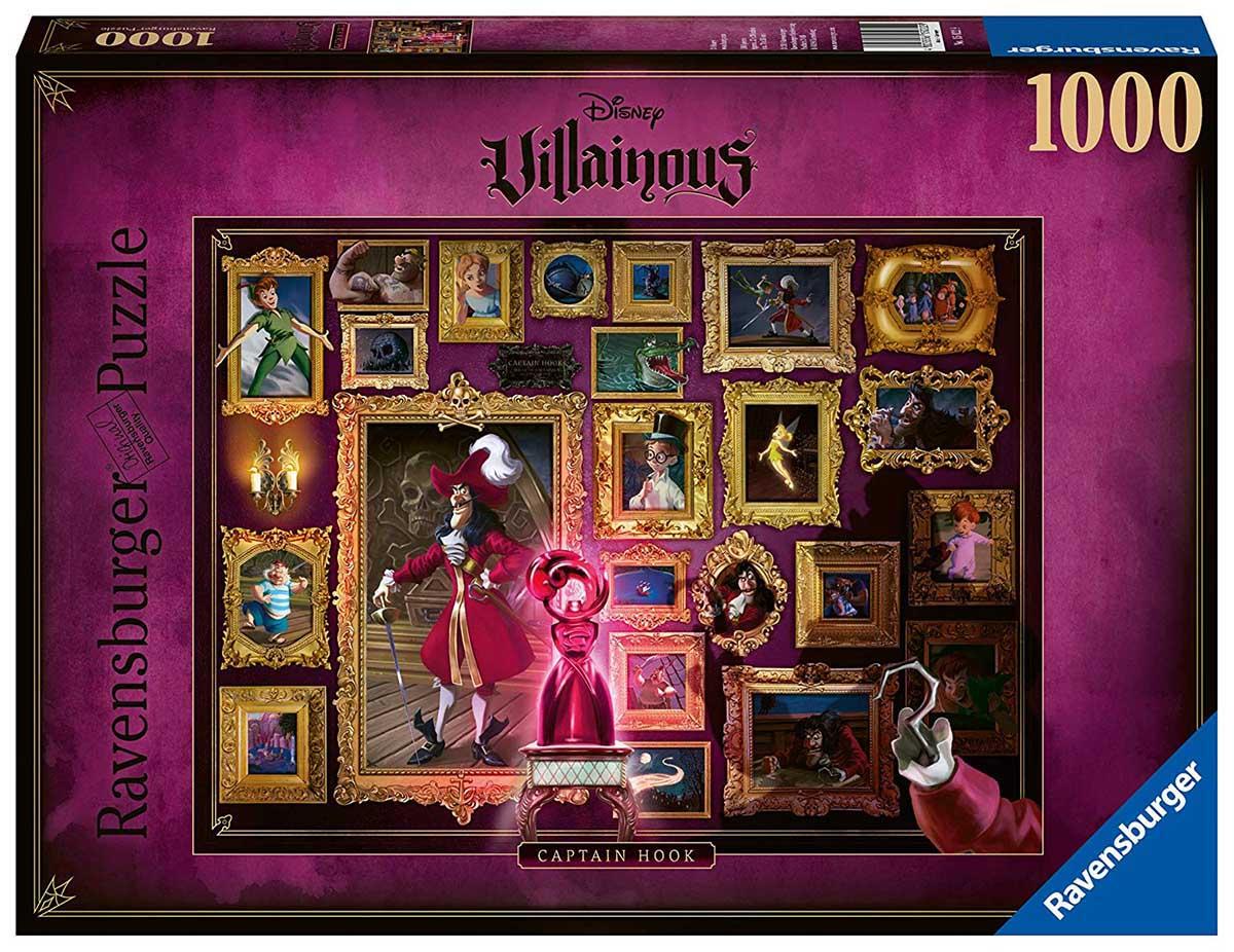 Villainous:  Captain Hook - Scratch and Dent Disney Jigsaw Puzzle