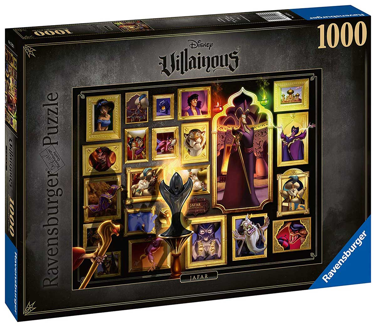 Villainous: Jafar Disney Jigsaw Puzzle