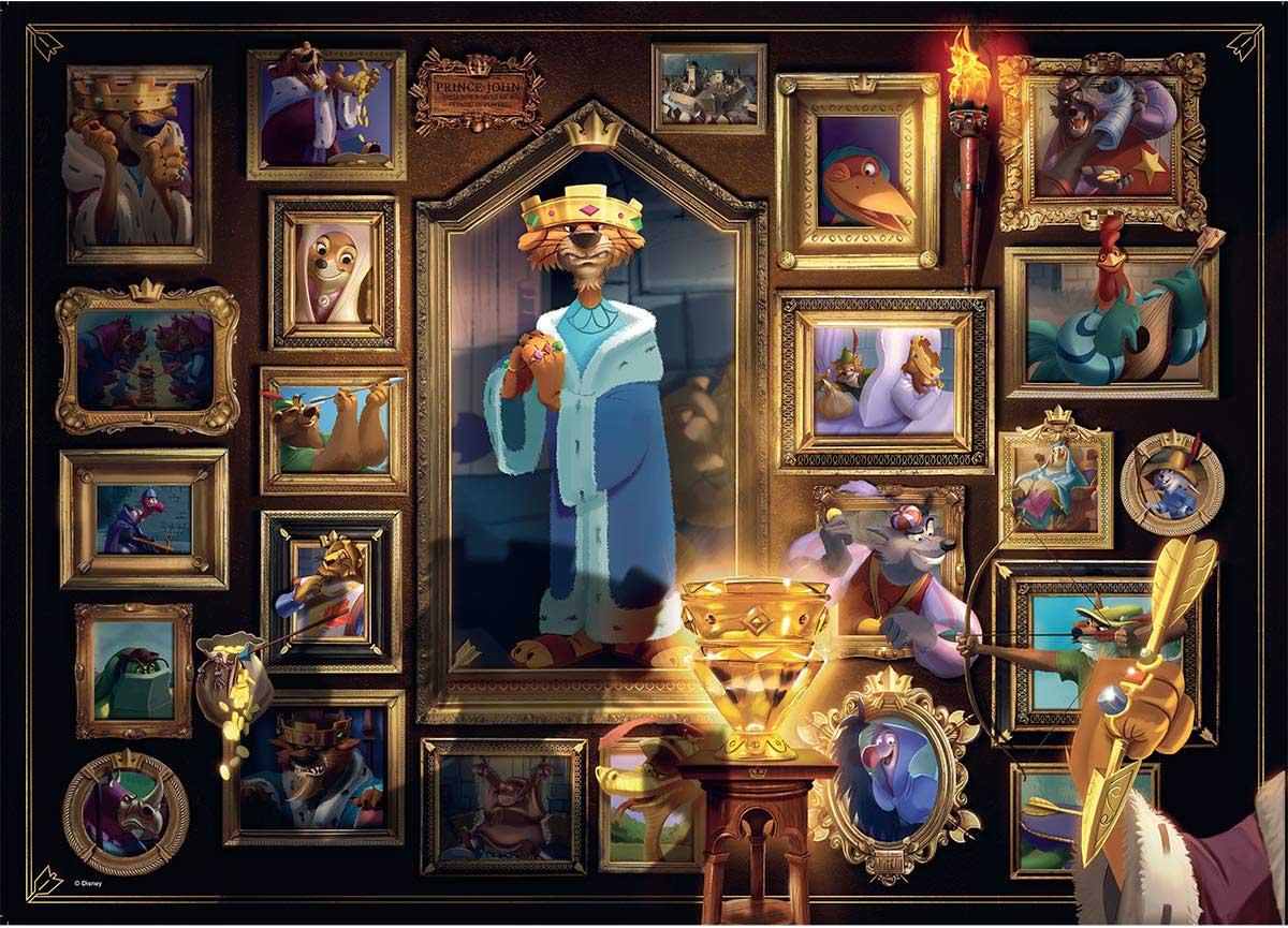 Villainous: King John Disney Jigsaw Puzzle
