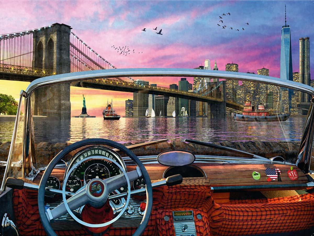 Brooklyn Bridge Skyline / Cityscape Jigsaw Puzzle