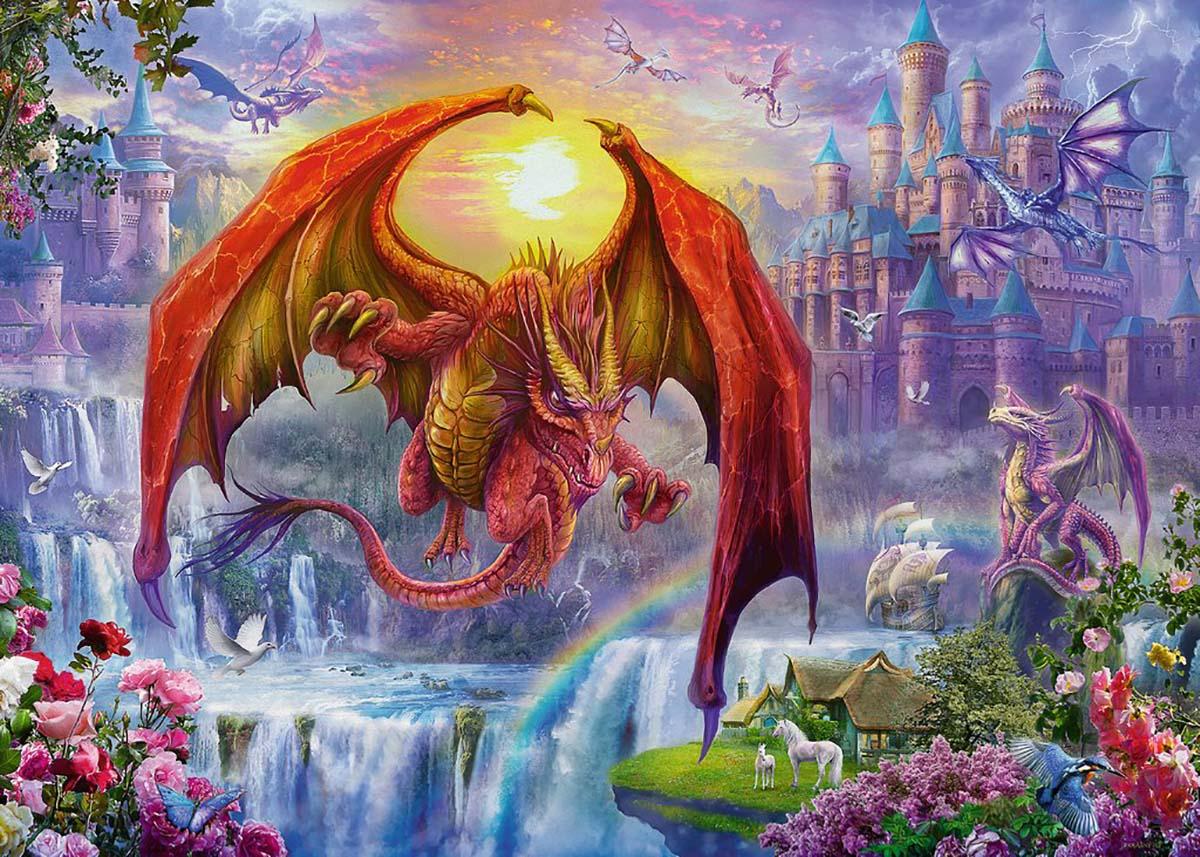 Dragon Kingdom Fantasy Jigsaw Puzzle