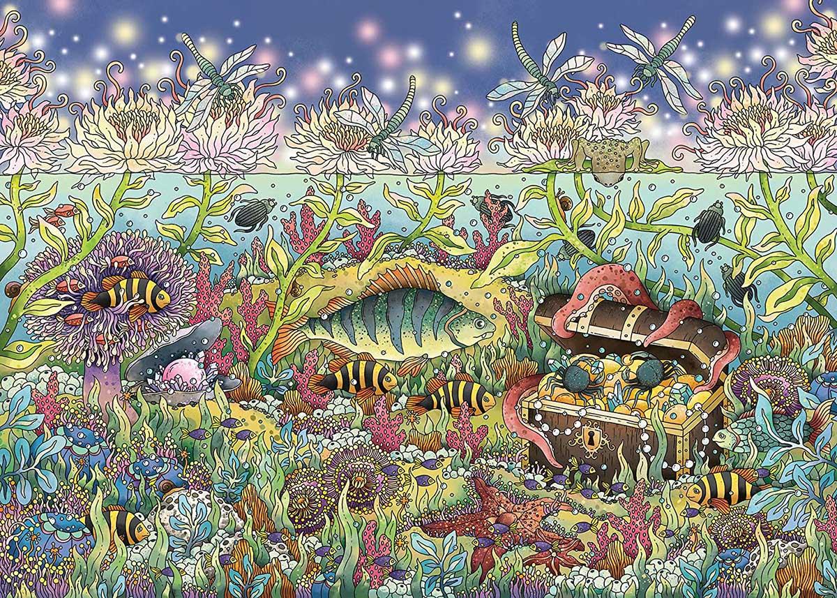 Underwater Kingdom Under The Sea Jigsaw Puzzle