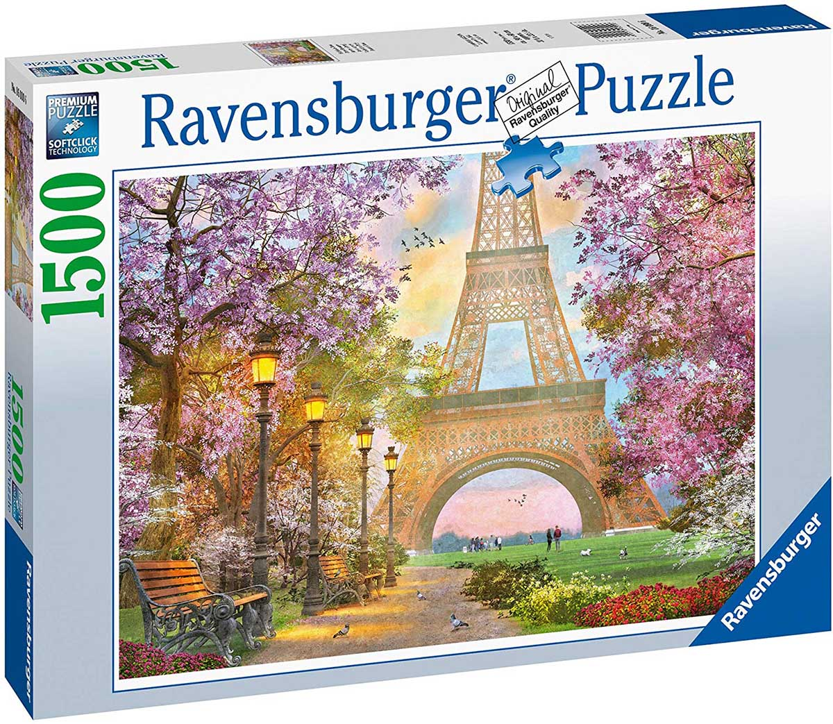A Paris Stroll France Jigsaw Puzzle