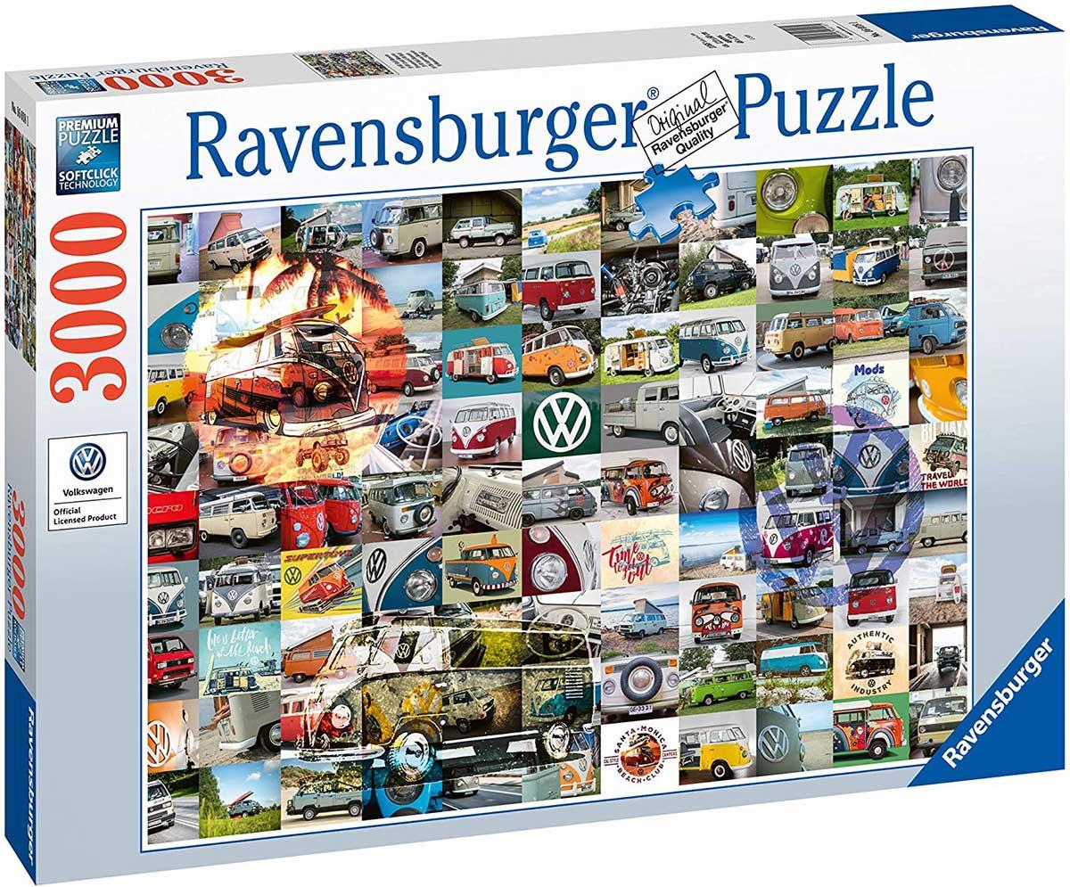 99 VW Camper Van Moments Vehicles Jigsaw Puzzle