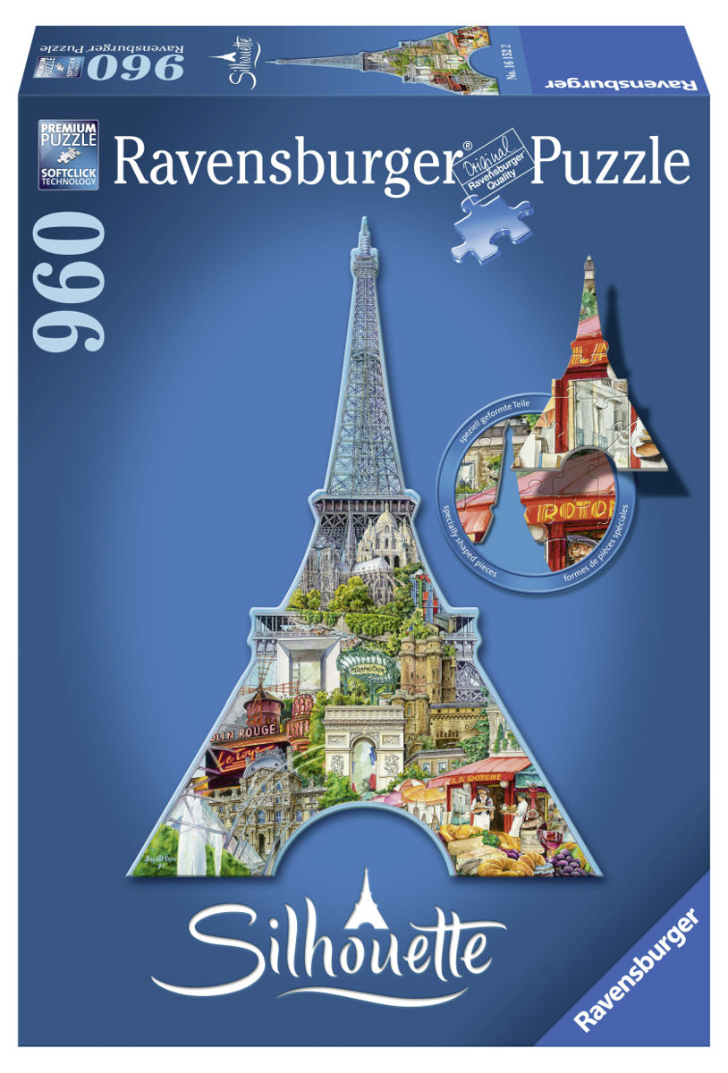 Eiffel Tower - Scratch and Dent Landmarks / Monuments Jigsaw Puzzle