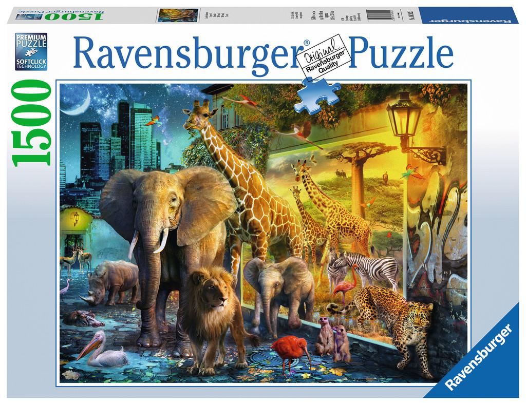 The Portal 1500 Pieces Ravensburger Puzzle Warehouse