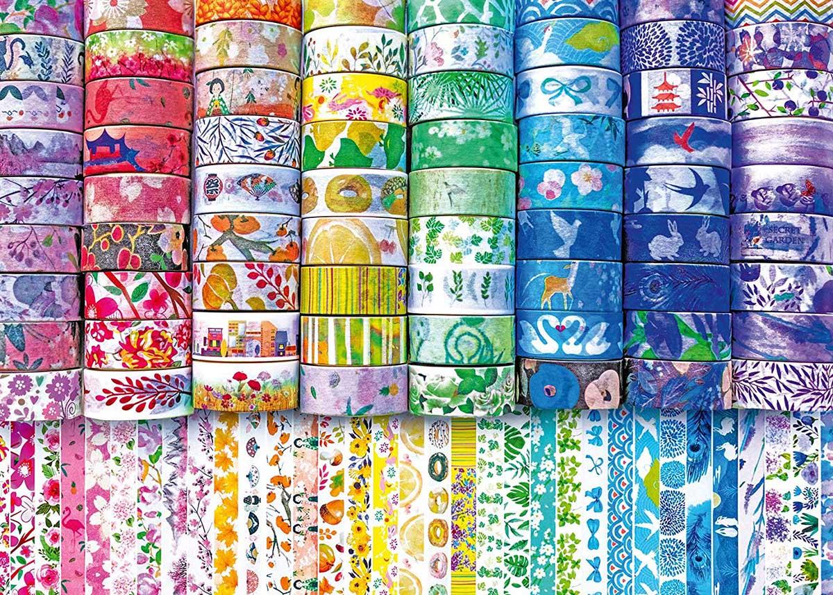 Washi Wishes Asian Art Jigsaw Puzzle