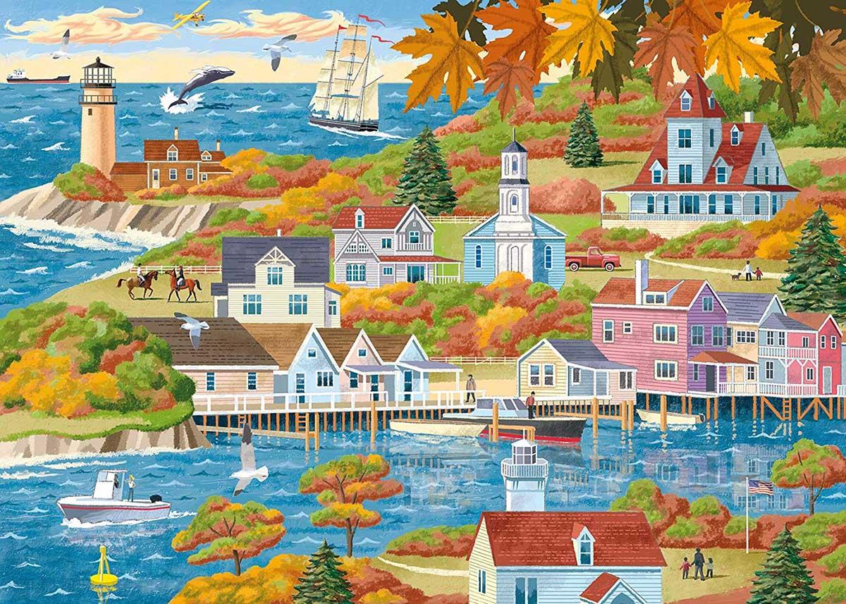 By Land & Sea Seascape / Coastal Living Jigsaw Puzzle