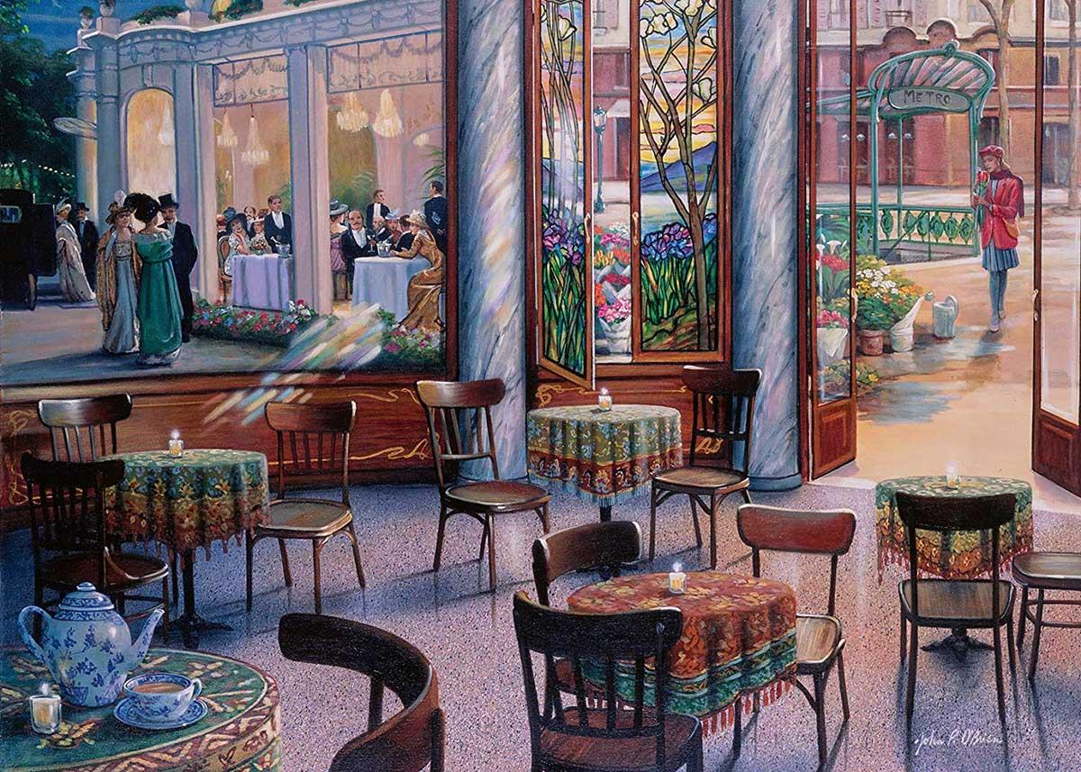 A Café Visit People Jigsaw Puzzle