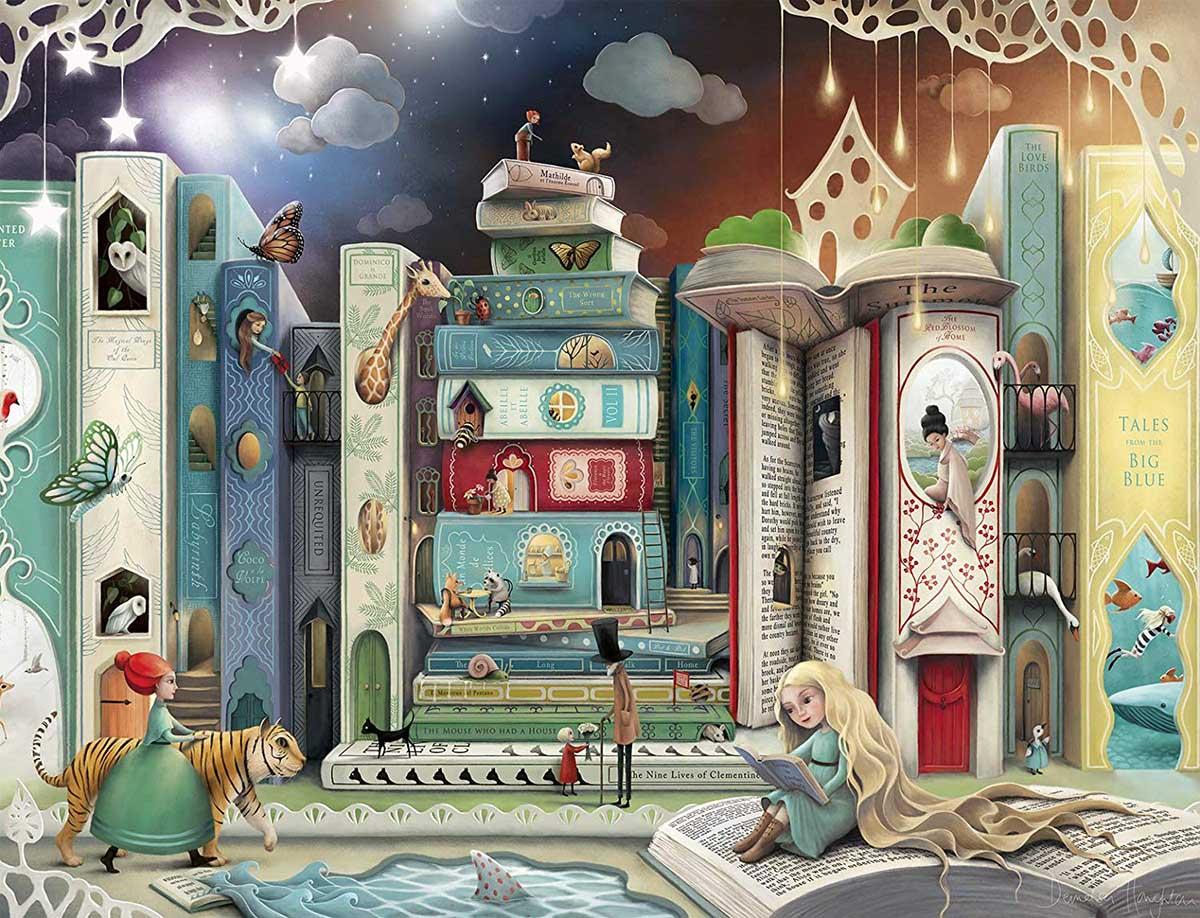 Novel Avenue Fantasy Jigsaw Puzzle